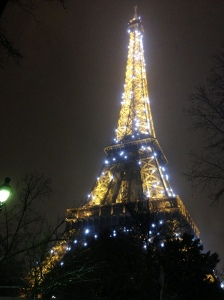 Sparkly Eiffel Tower!